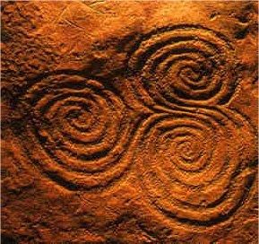 Spirals, Decorated Stones
